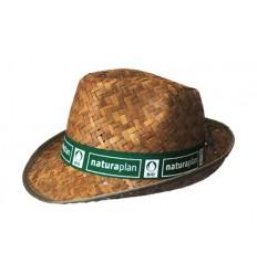Sombrero de Paja Oscura para Niños Borsalino Personalizado - Imagen de Portada