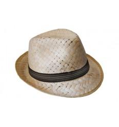 Sombrero de Paja Elegante para Niño Borsalino Personalizado - Imagen de Portada