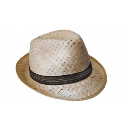 Sombrero de Paja Elegante para Niño Borsalino Personalizado - Imagen de  Portada 88b008b5c3c