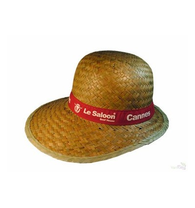 Sombrero de Paja con Visera de Señora - Regalos Personalizados 0d505be2591