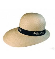 Sombrero de Paja para Señora con Publicidad - Imagen de Portada