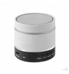Altavoz Bluetooth con Acabado en Caucho Personalizado color Blanco