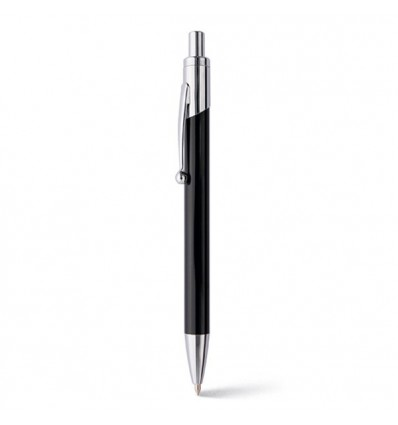 Bolígrafo de Aluminio para Merchandising Publicitario Color Negro