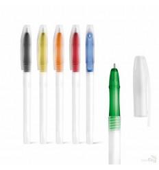 Bolígrafo de Plástico Barato Transparente