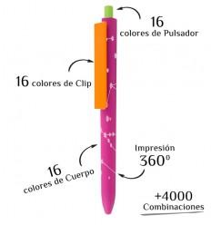 Bolígrafo Publicitario Multicolor