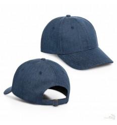 Gorra de Algodón Ajustable de Publicidad color Azul