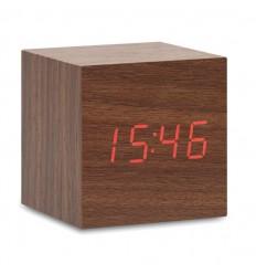 Reloj de Sobremesa efecto Madera Personalizado