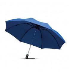 Paraguas Plegable Reversible Personalizado color Azul
