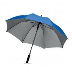 Paraguas Grande con Apertura Automática de Publicidad color Azul Royal
