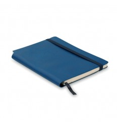 Libreta A5 con Hojas Rayadas y Tapa Blanda para Empresas Color Azul