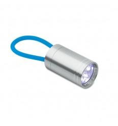 Linterna LED con Asa de Goma Promocional