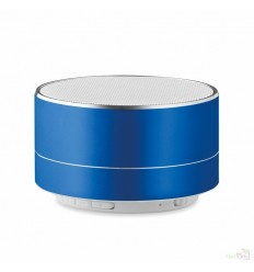 Altavoz Bluetooth de Aluminio Publicidad Color Azul Royal