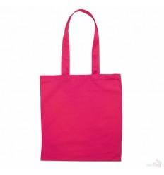 Bolsa de Algodón de Color con Asas Largas Personalizada