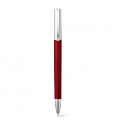 Bolígrafo de Publicidad Acabado Metalizado Para Empresa color Rojo
