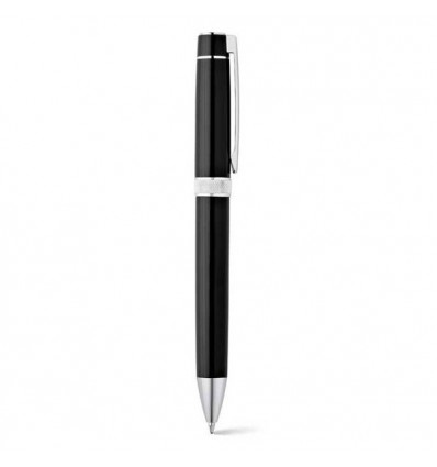 Set Roller y Bolígrafo con Estuche para Merchandising Color Negro