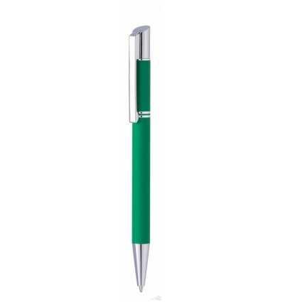 Bolígrafo Tess Lux Personalizado Verde con Logo