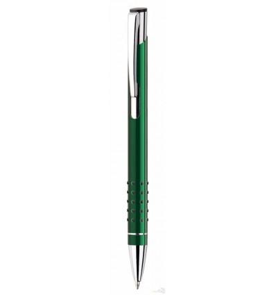 Bolígrafo Veno Rubber Publicitario Verde con Logo