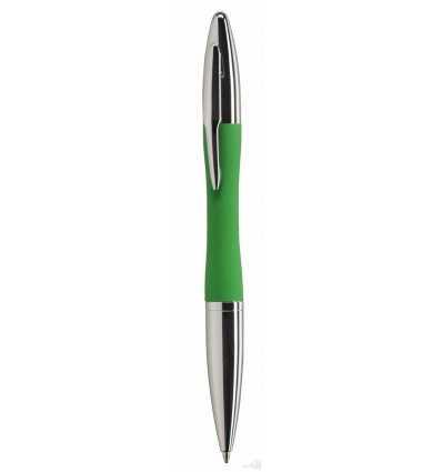 Bolígrafo Joa Promocional Verde con Logo