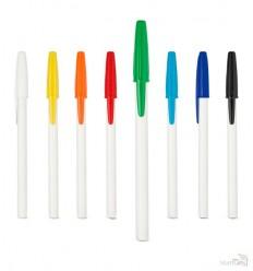 Bolígrafo Promocional con Cuerpo Blanco Personalizado