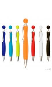 Bolígrafo con Pulsador Redondo