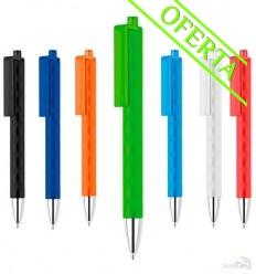 Bolígrafo de Plástico con cuerpo irregular