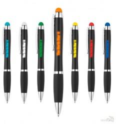 Bolígrafo Logo con Luz y Touch de Color