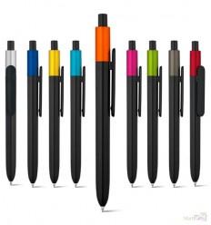 Bolígrafo Personalizado de Plástico Color Metalizado