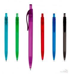Bolígrafo Promocional de Plástico Transparente
