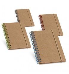 Bloc de Notas de Cartón con Hojas de Papel Reciclado para Merchandising