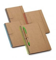 Bloc de Notas de Cartón con Soporte para Bolígrafo para Merchandising