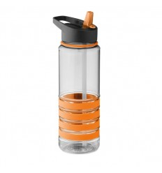 Botella de Tritán con Pajita Plegable Personalizada