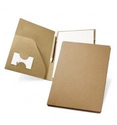 Portafolios Ecológico de Cartón con Bolígrafo Publicitario