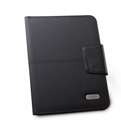 Portafolios con Cierre Magnético para Regalo de Empresa Color Negro