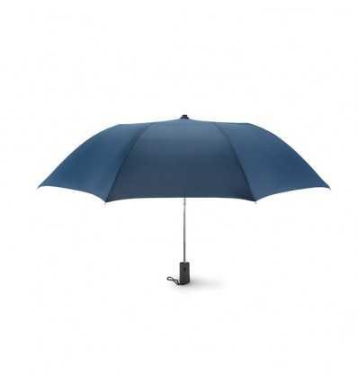 Paraguas Publicitario de Apertura Automática en Pongis - Color Azul