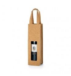 Bolsa para Botella de Vino para Regalo de Empresa Color Natural