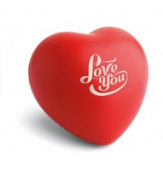 Corazón Antiestrés en PU Personalizado