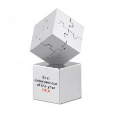 Puzzle 3D Magnético Pisapapeles Publicitario