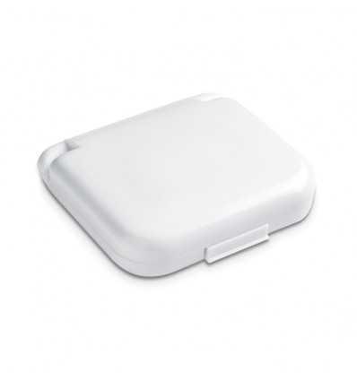 Caja con Set de Costura Promocional Color Blanco