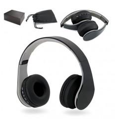 Auriculares Plegables Bluetooth Personalizados con Lector de Tarjetas