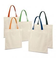 Bolsa de Algodón con Asas de Color para Regalar