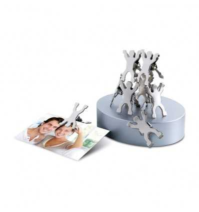 Base Magnética con Clips en Forma de Hombre Publicidad