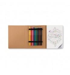 Juego para Colorear con 50 páginas Diseñadas Promocional