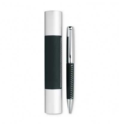 Bolígrafo de Metal con Piel Publicidad