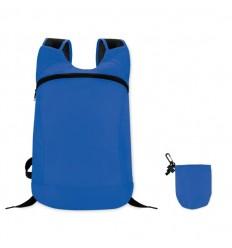 Mochila Deportiva Plegable Personalizada Color Azul Royal