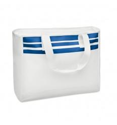 Bolsa de Playa de Poliéster color Azul con Logo
