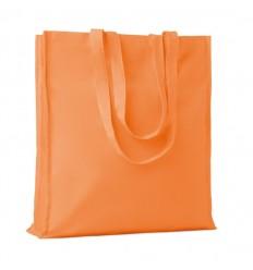 Bolsa de Algodón de Colores con Fuelle para la Compra