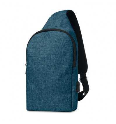 Mochila Bandolera para Tablet color Azul Personalizada