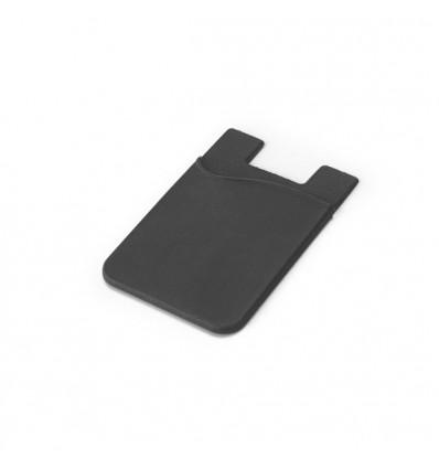Porta Tarjetas Personalizado para Smartphone color Negro