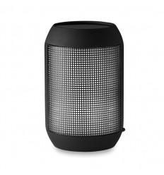 Altavoz Bluetooth con Control Remoto y Luz LED Personalizado Color Negro