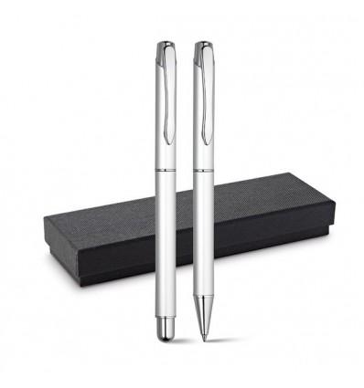 Set Roller y Bolígrafo de Aluminio para Regalo de Empresa
